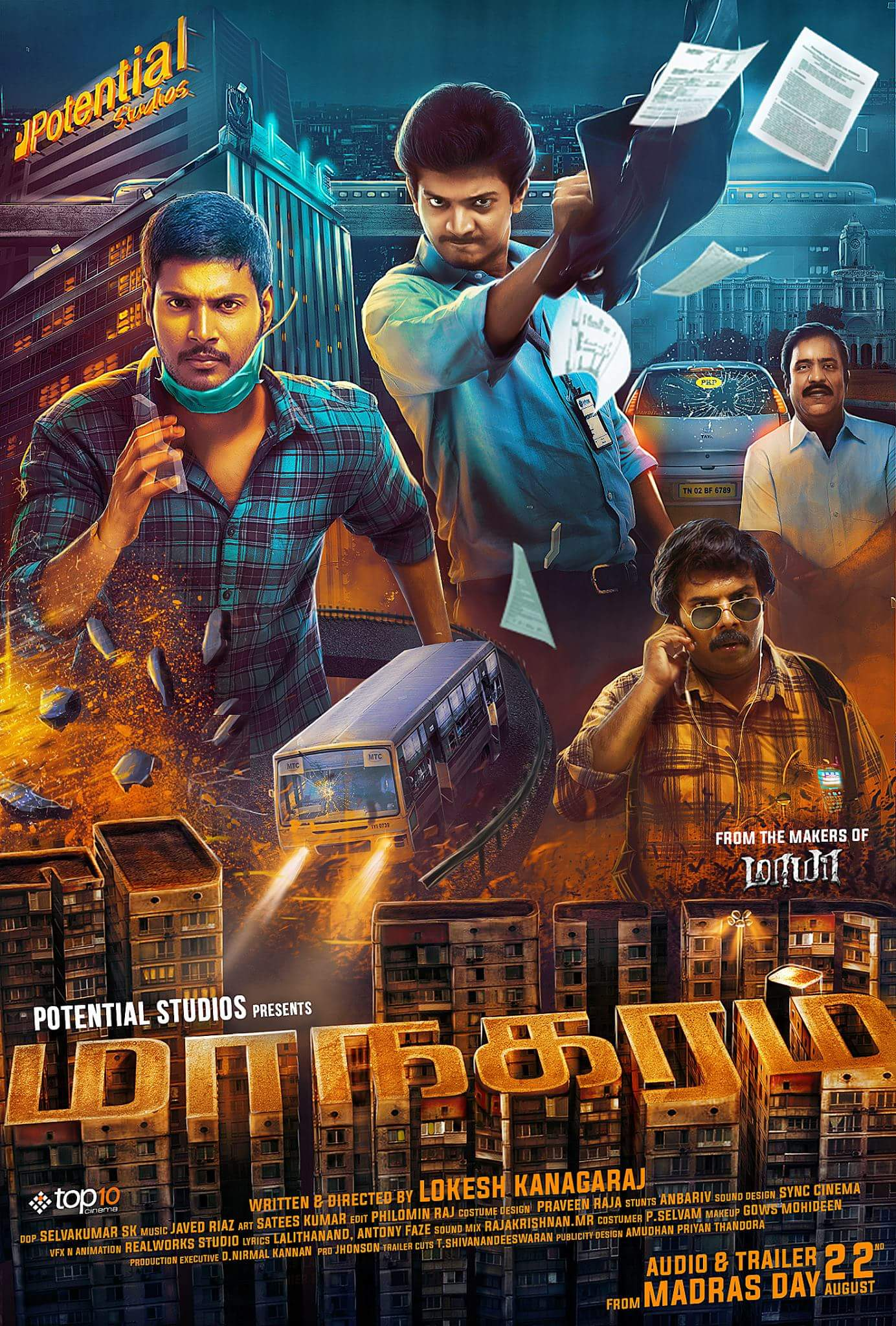 Dadagiri 2 (Maanagaram) (2019) 480p HDRip x264 Hindi Dubbed [350MB]